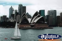 View of Sydney and Sydney Opera House . . . CLICK TO ENLARGE