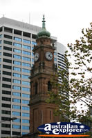 Sydney Clock Tower . . . CLICK TO ENLARGE