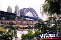 View of Sydney Harbour Bridge . . . CLICK TO ENLARGE