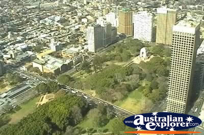 Sydney Birds Eye View . . . CLICK TO VIEW ALL SYDNEY POSTCARDS