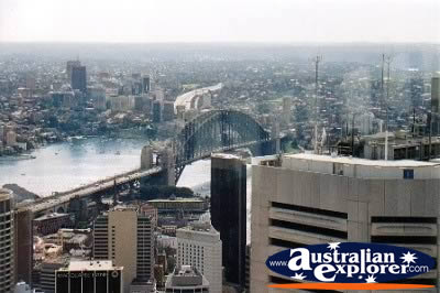Sydney View by Day . . . CLICK TO VIEW ALL SYDNEY POSTCARDS