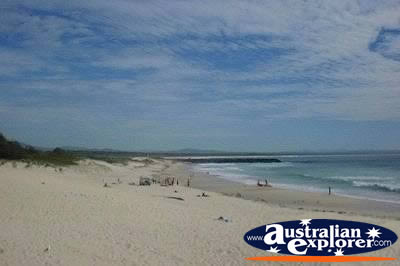 Tuncurry Beach . . . CLICK TO VIEW ALL TUNCURRY POSTCARDS