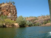 Landscape of Katherine Gorge in the Northern Territory . . . CLICK TO ENLARGE