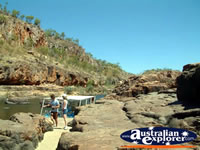 People Visiting Katherine Gorge . . . CLICK TO ENLARGE