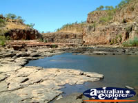 View of Katherine Gorge's Scenery . . . CLICK TO ENLARGE