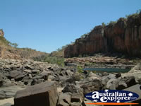 Katherine Gorge Streams and Rocky Landscape . . . CLICK TO ENLARGE