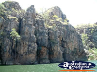 View from the Boat of Katherine Gorge in the Northern Territory . . . CLICK TO ENLARGE