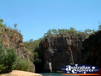 Crusing Down the Katherine Gorge . . . CLICK TO ENLARGE