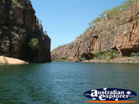View Down the Katherine Gorge . . . CLICK TO ENLARGE