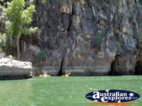 The landscape of the Katherine Gorge . . . CLICK TO ENLARGE