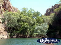 Katherine Gorge Bushes and Waters . . . CLICK TO ENLARGE