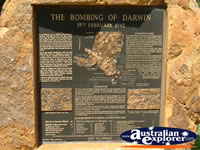 Darwin Bombing Plaque . . . CLICK TO ENLARGE