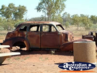 Wauchope Burnt Out Car . . . CLICK TO ENLARGE