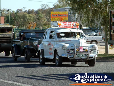 Alice Springs Transport Hall of Fame Parade Vintage Cars . . . CLICK TO VIEW ALL ALICE SPRINGS POSTCARDS