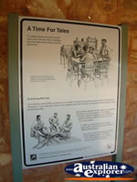 Tennant Creek Telegraph Station A Time for Tales Sign . . . CLICK TO ENLARGE