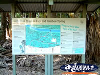 Mataranka Hot Springs Map . . . CLICK TO ENLARGE