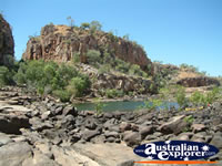 View of Katherine Gorge . . . CLICK TO ENLARGE