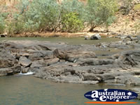 Katherine Gorge Stream in the NT . . . CLICK TO ENLARGE