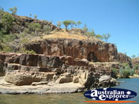 Katherine Gorge Water and Rock Walls . . . CLICK TO ENLARGE