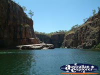 The Northern Territory's Katherine Gorge . . . CLICK TO ENLARGE