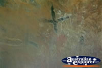 Aboriginal Drawings at Ayers Rock . . . CLICK TO ENLARGE