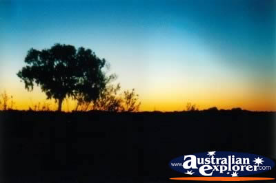 Central Australia Beautiful Sunset . . . VIEW ALL MACDONNELL RANGES PHOTOGRAPHS