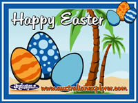 Easter Eggs (Navy) . . . CLICK TO ENLARGE