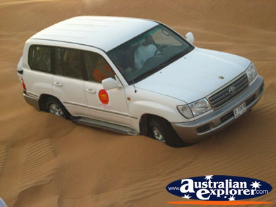 4x4 Bogged in Sand . . . VIEW ALL FOUR WHEEL DRIVING PHOTOGRAPHS