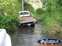 4x4 in Creek Bed . . . CLICK TO ENLARGE