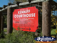 Mitchell Kennif Courthouse Sign . . . CLICK TO ENLARGE
