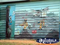 Mural in Eidsvold . . . CLICK TO ENLARGE