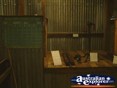 Capella Pioneer Village Tools And Blackboard . . . CLICK TO VIEW ALL CAPELLA POSTCARDS