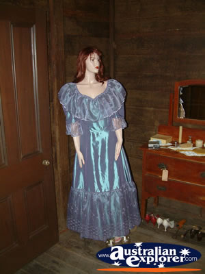 Capella Pioneer Village Homestead Mannequin . . . CLICK TO VIEW ALL CAPELLA POSTCARDS