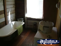 Capella Pioneer Village Homestead Bathroom . . . CLICK TO ENLARGE