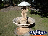 Capella Pioneer Village Homestead Birdbath . . . CLICK TO ENLARGE