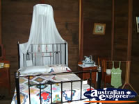 Capella Pioneer Village Homestead Bedroom . . . CLICK TO ENLARGE