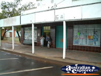 People outside a store on a Charleville Street . . . CLICK TO ENLARGE