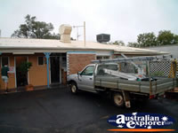 Outside Charleville Waltzing Matilda Motel . . . CLICK TO ENLARGE