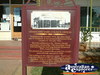 Richmond Shire Council History . . . CLICK TO ENLARGE