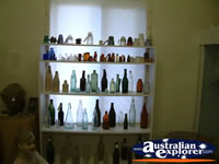 Nebo Museum Empty Bottles Display . . . CLICK TO ENLARGE