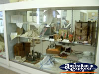Nebo Museum Cabinet Display . . . CLICK TO ENLARGE