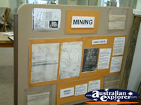 Nebo Museum Mining Display . . . CLICK TO ENLARGE