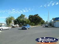 Cars on a Biloela Street . . . CLICK TO ENLARGE