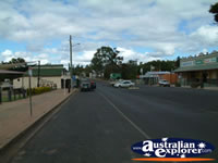 View of Eidsvold Main Street . . . CLICK TO ENLARGE