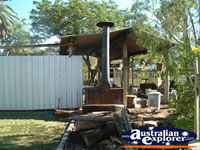 Camp Kitchen at Blackall Caravan Park . . . CLICK TO ENLARGE