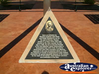 Blackall Plaque . . . CLICK TO ENLARGE