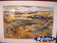 Winton Waltzing Matilda Centre Painted Wall Hanging . . . CLICK TO ENLARGE