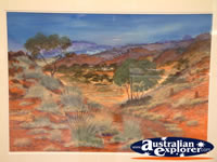 Painting at Winton Waltzing Matilda Centre . . . CLICK TO ENLARGE