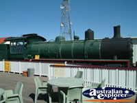 Train at Winton Waltzing Matilda Centre . . . CLICK TO ENLARGE