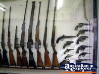 Winton Waltzing Matilda Centre Gun Display . . . CLICK TO ENLARGE